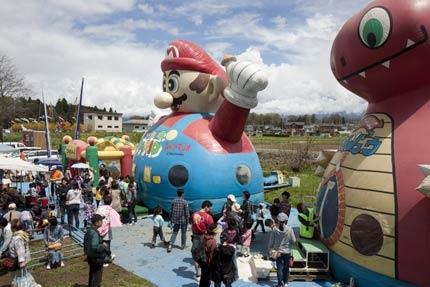 子供達の遊び場所