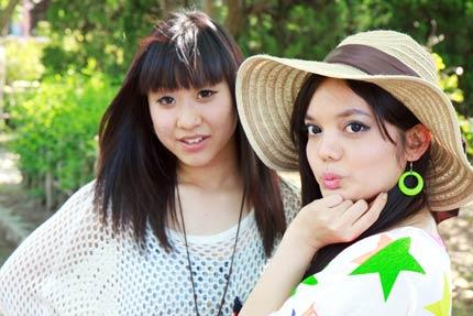 小山郁美さんとマアヤリダさん