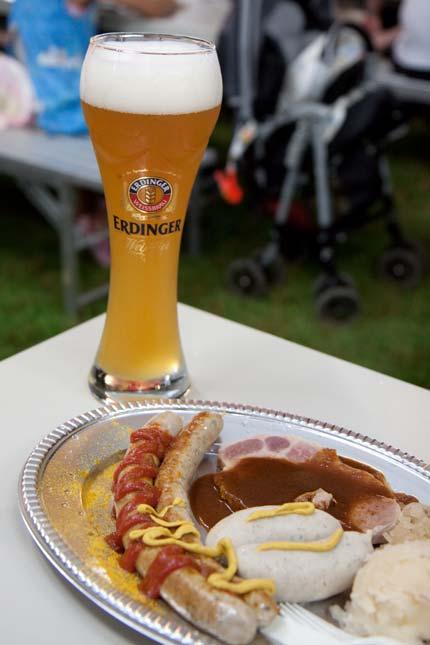 ドイツのビールもソーセージ