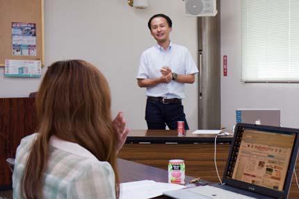 バランシングロック横山先生