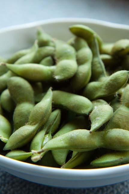 茶豆は、早く茹でて食べた方が美味しい