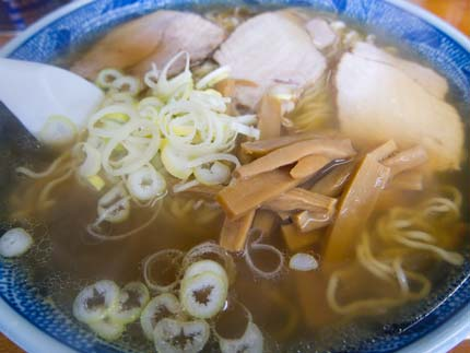 柳麺600円+大盛り100円