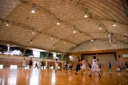 バスケットボール部が練習試合