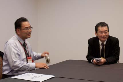 アイリンクコンサルタント加藤先生と(株)本橋製作所の井上浩良さん