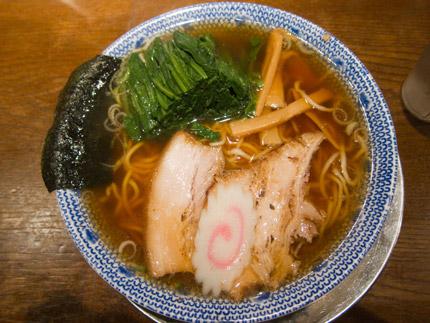 らーめん630円+ホーレン草100円