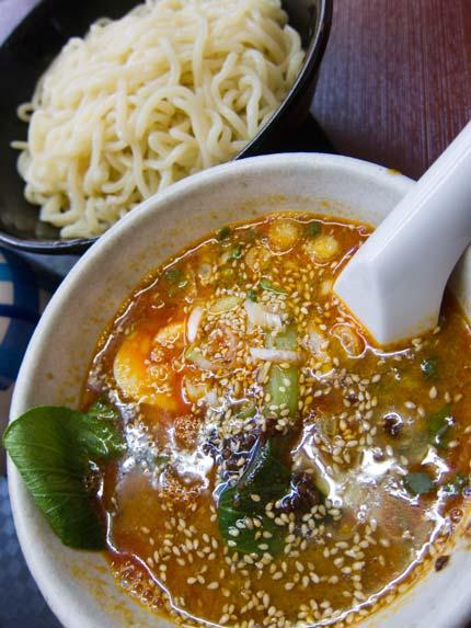 タンタンつけ麺830円