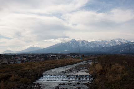 新井地区から見た妙高山