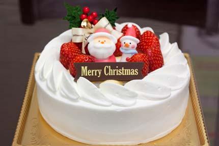 レ・ドゥーさんのクリスマスケーキ