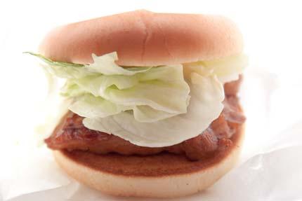 てりやきチキンバーガー320円