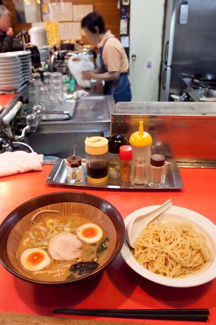 スタミナつけ麺800円