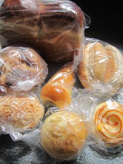 一口サイズのパン