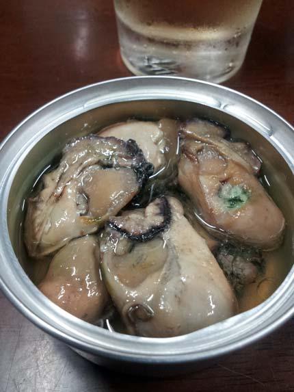 広島産牡蠣の燻製油漬け