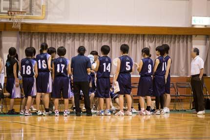 新潟県中学校女子バスケットボール上越地区大会