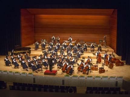 新潟中央高校管弦楽部の演奏