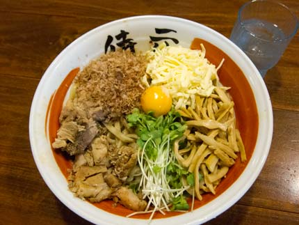 ちゃっちゃ和え麺800円