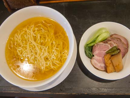 鶏塩麺800円