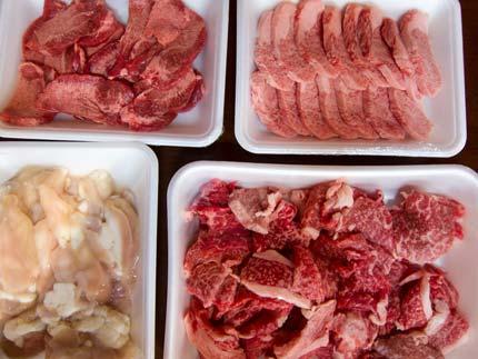 肉を沢山買いました