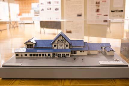 昔あった直江津駅の模型