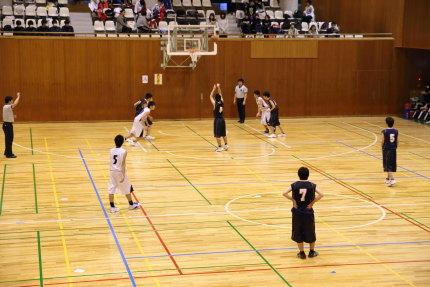高校バスケットボール上越地区大会