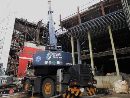 高田中劇会館が解体