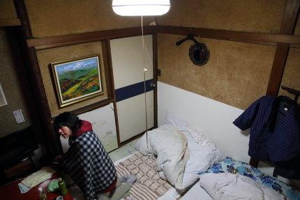 昭和に戻ったような古めかしい旅館