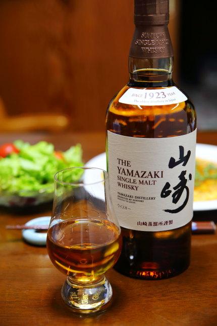 高級ウイスキー山崎