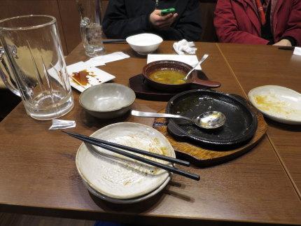 たくさん食べました
