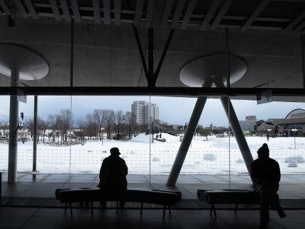 雪景色も美しい劇場