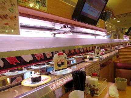 某回転寿司店