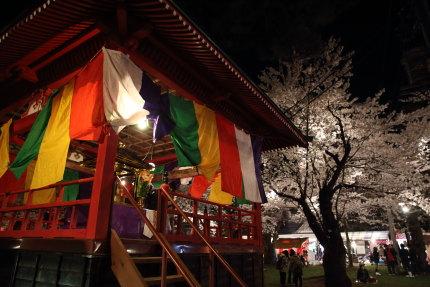 高田公園内にあるお寺
