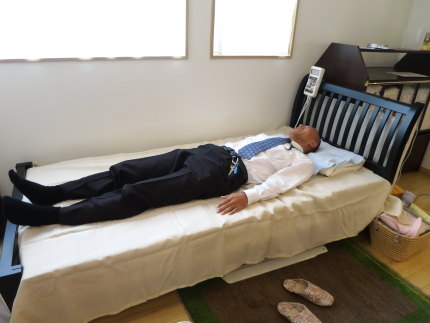 眠りやすく、体への負担が少なく感じます