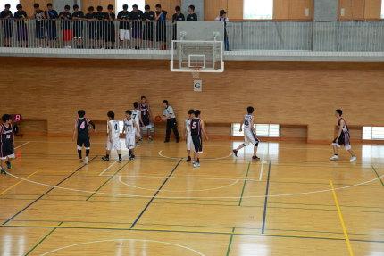 新潟県高校総体男子バスケットボール大会