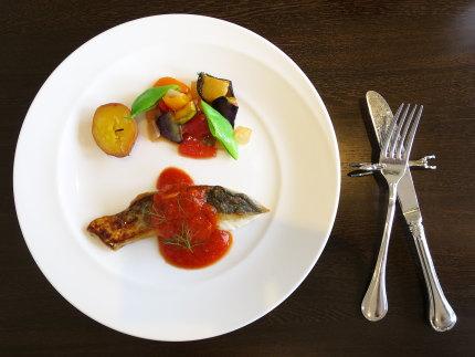 白身魚(鱈?)のポワレ