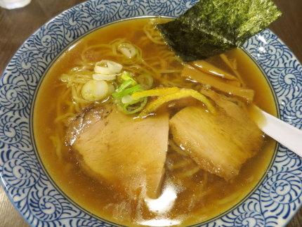 白らー麺680円