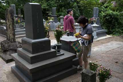 母方実家の墓参り