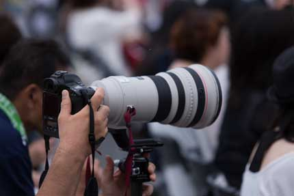 すごいレンズのカメラ