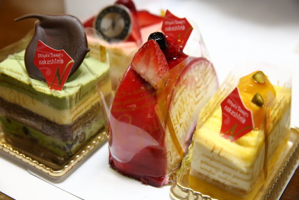 ナカシマさんのケーキ