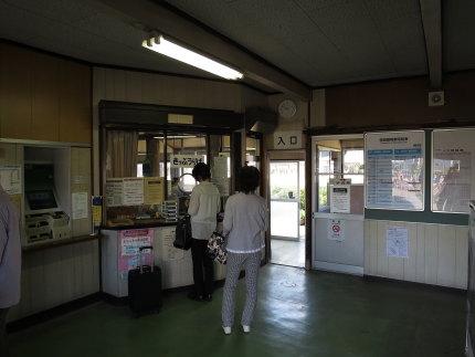 旧脇野田駅を見学