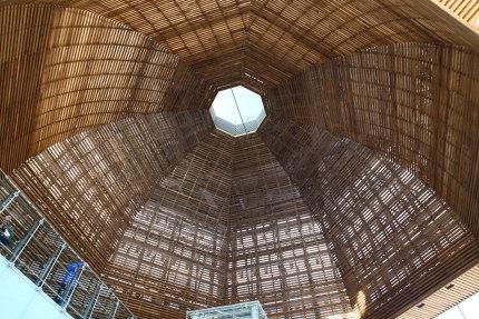 もてなしドーム天井