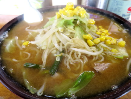 味噌柳麺850円