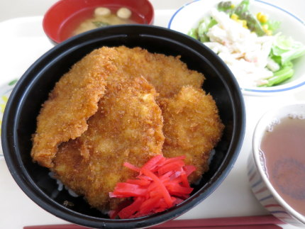 たれカツ丼510円