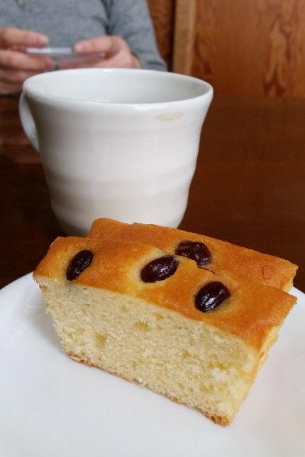 小豆のケーキ