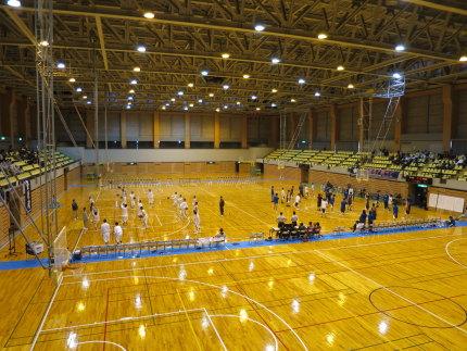 高校生のバスケットボール大会