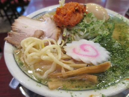 太麺に合う味噌スープ
