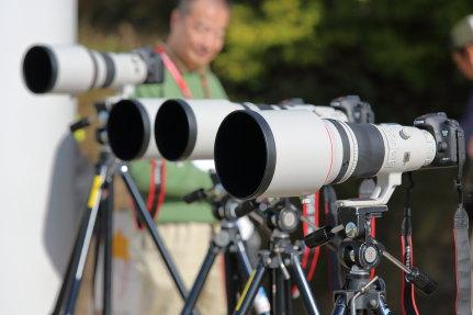 高額な望遠レンズ