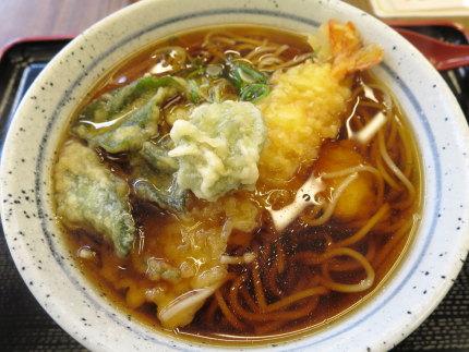 天ぷらそば650円