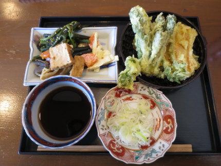 お惣菜と天ぷら