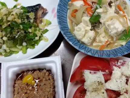 5月29日の夕食