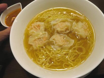 海老雲呑麺850円