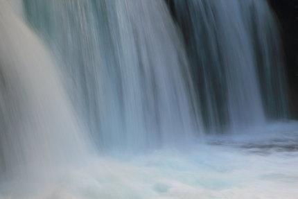 豊富な水量